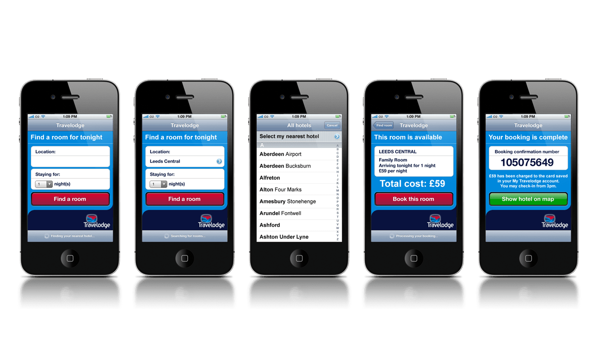 travelodge Mobile Apps