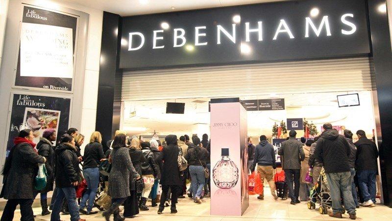 Debenhams promo code