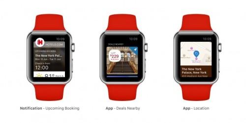 Hotels com Apple Watch