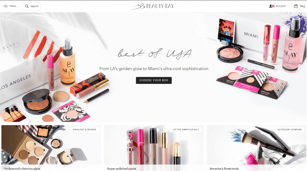 Beauty Bay Website