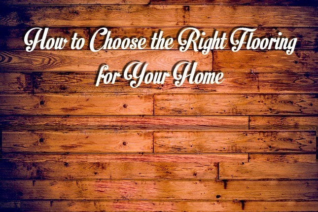 How To Choose Flooring