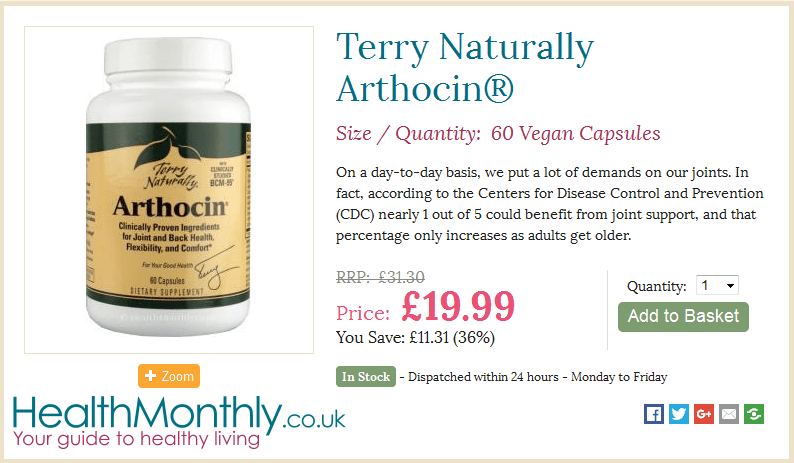 Terry Naturally Vitamins By health Monthly
