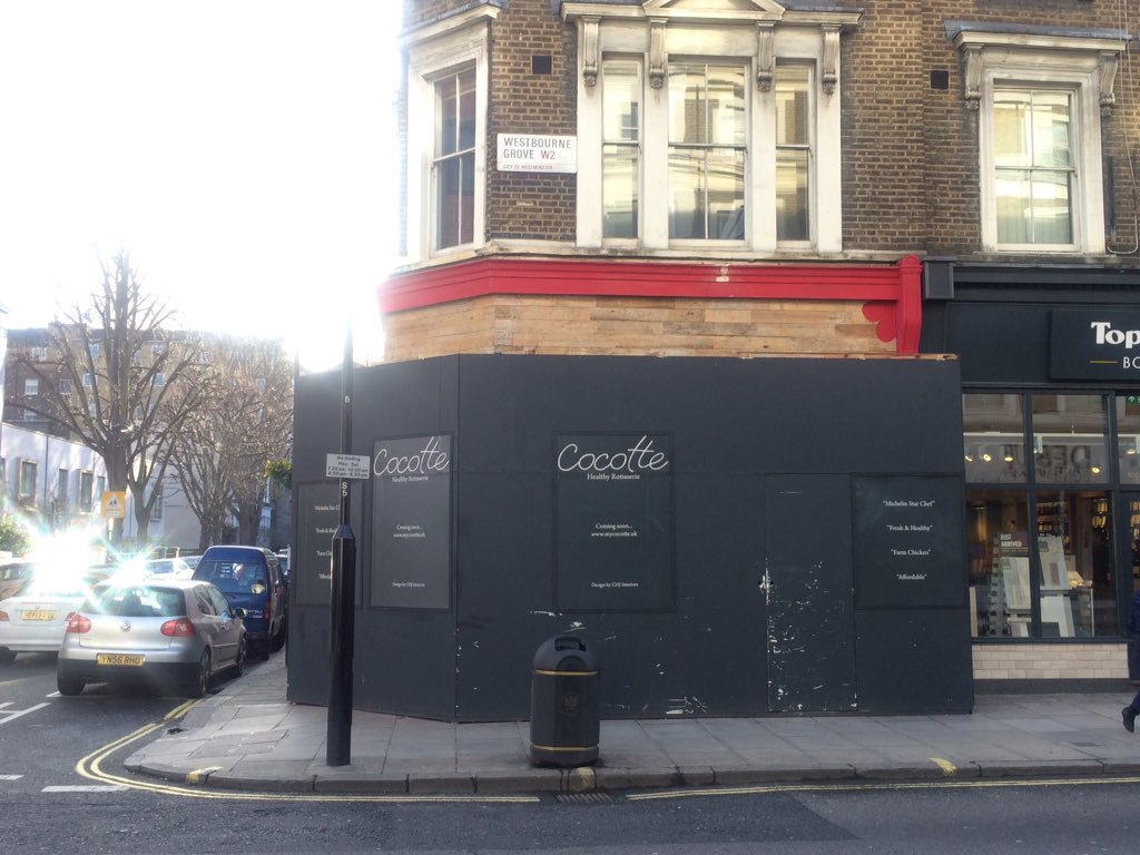 Cocotte, Notting Hill
