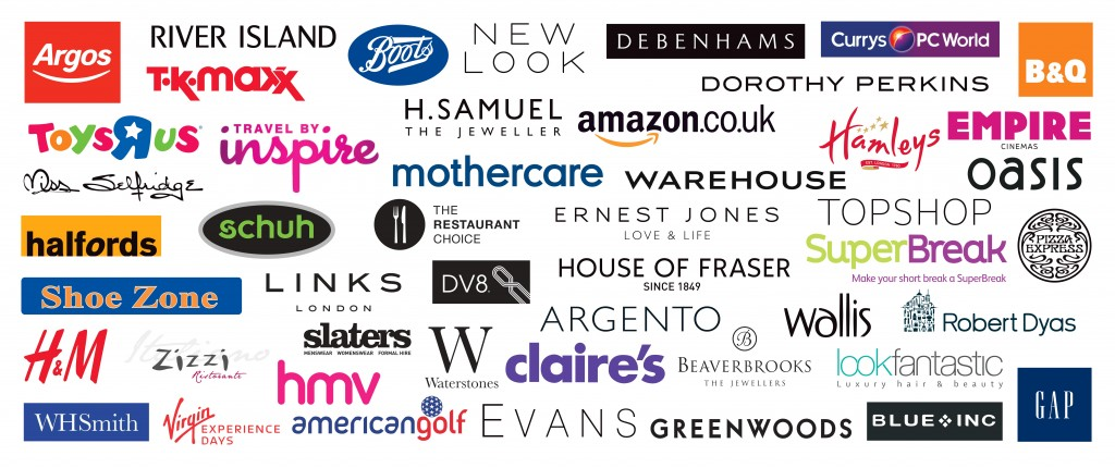 UK famous stores