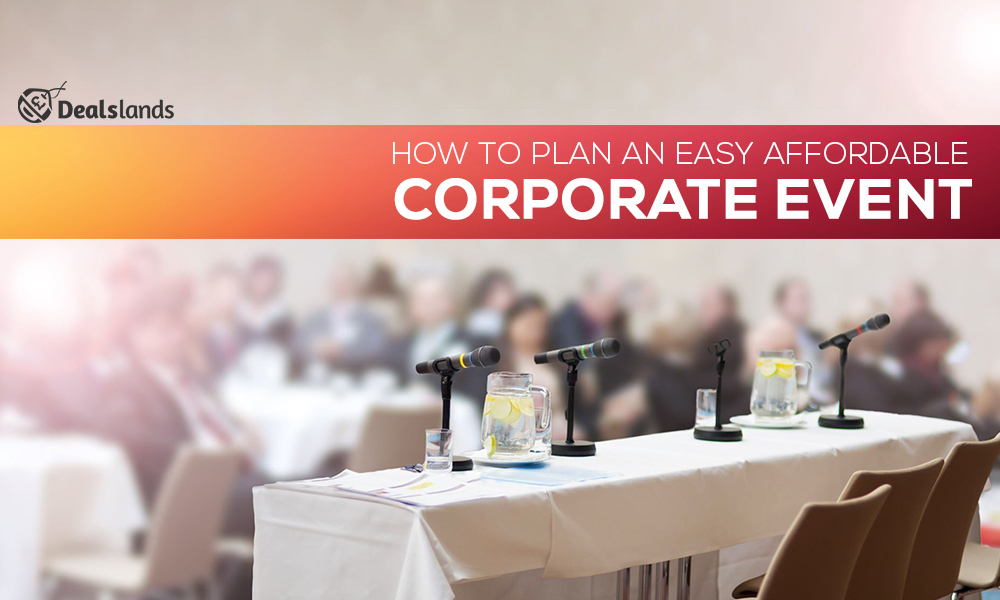 Easy Affordable Corporate Event