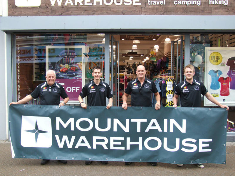 Mountain Warehouse Staff
