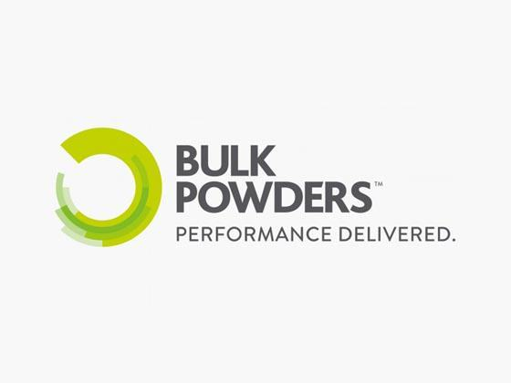 Bulk Powders Discount Code