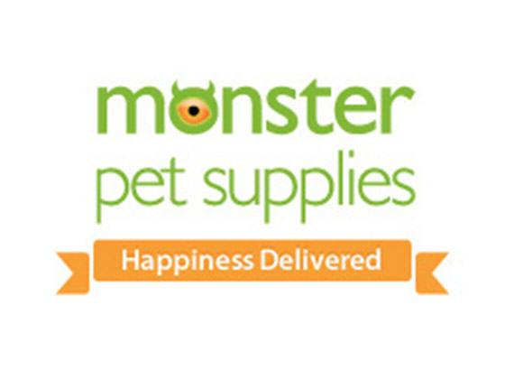 Monster Pet Supplies Discount Code