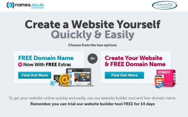 names.co.uk Promo vouchers