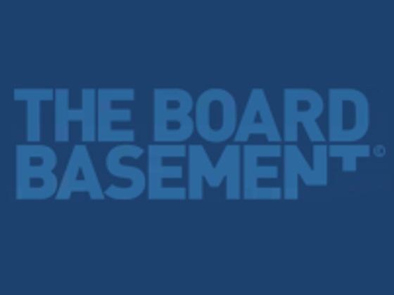 The Board Basement Voucher Code
