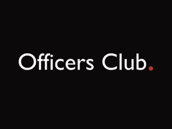 Officers Club Discount Code