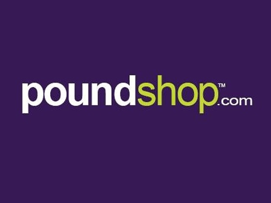 Poundshop Voucher Code