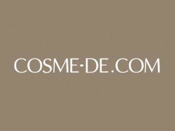 Cosme De Discount Code