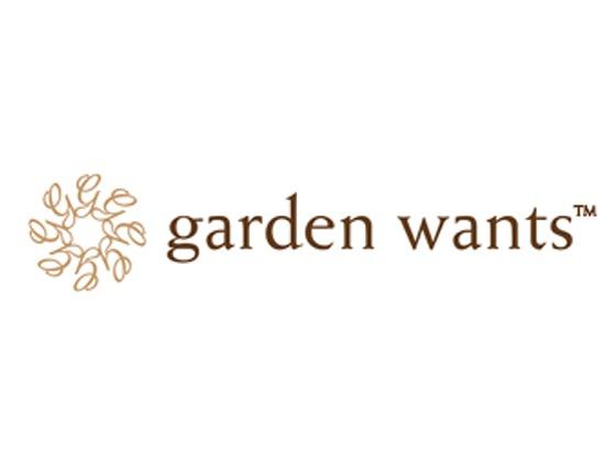 Garden Wants Promo Code