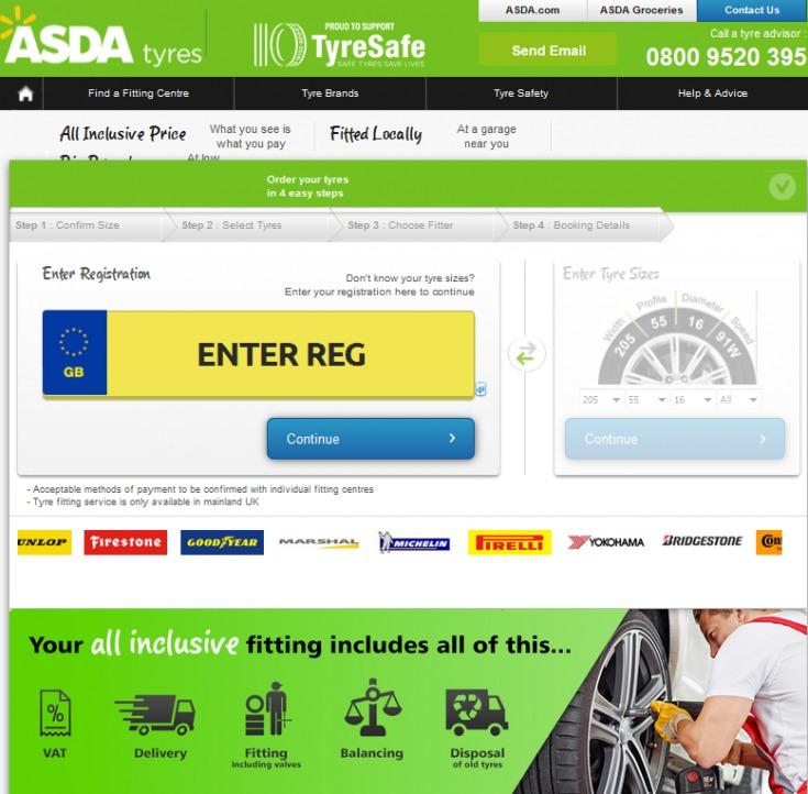 Asda Tyres Vouchers