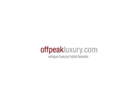 Off Peak Luxury Voucher Code