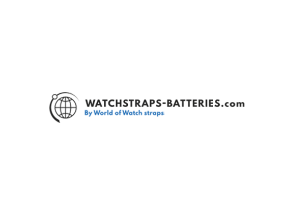 Watchstraps Batteries Discount Code
