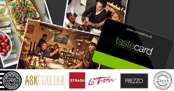 Taste Card