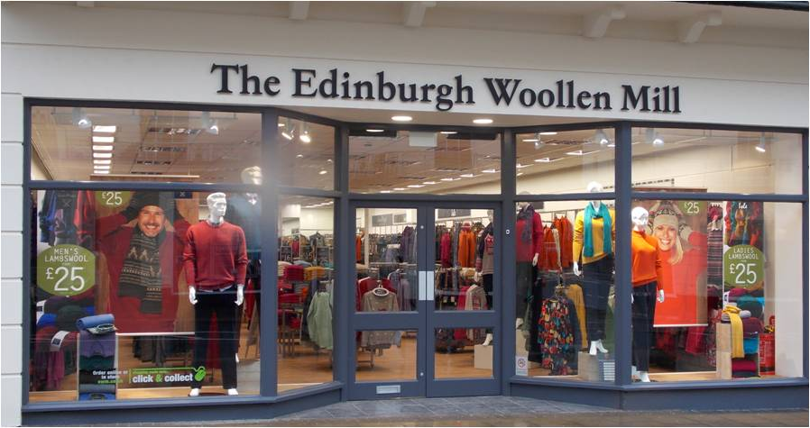 The Edinburgh Woollen Mill Vouchers