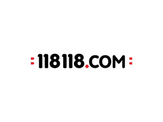 118 118 Beauty Voucher Code