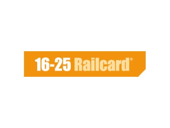 16-25 Rail Card Promo Code