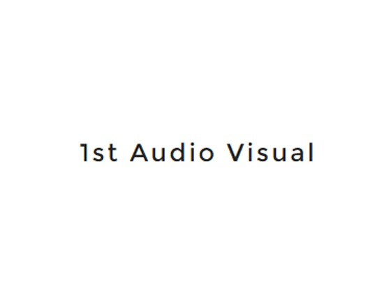 1st Audio Visual Voucher Code
