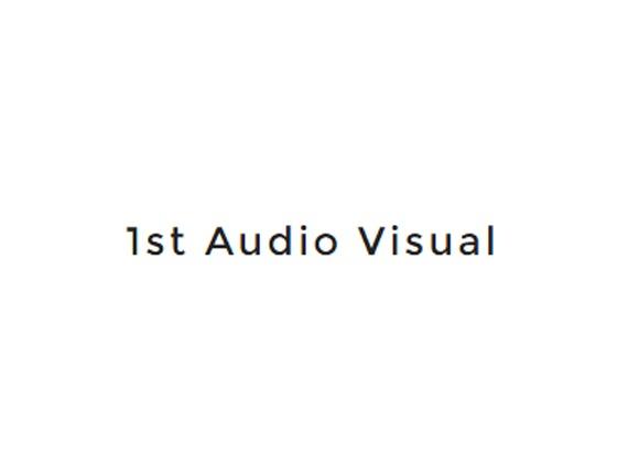 1st Audio Visual Voucher Code