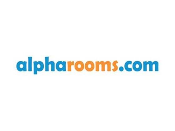 Alpharooms Voucher Code