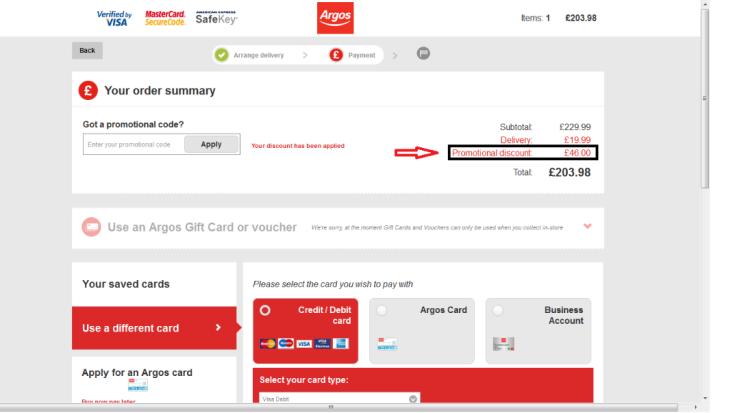Argos Voucher Code Guide