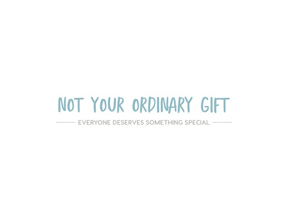 Not Your Ordinary Gift Voucher Code