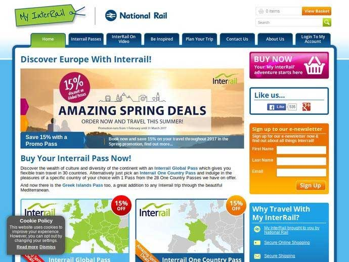 myinterrail co uk