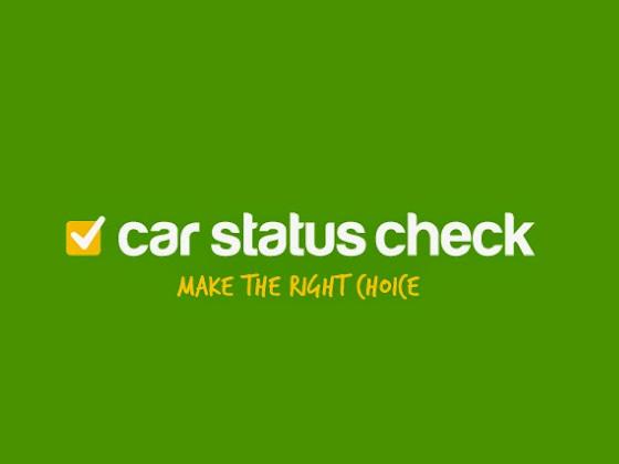 Car Status Check Discount Code