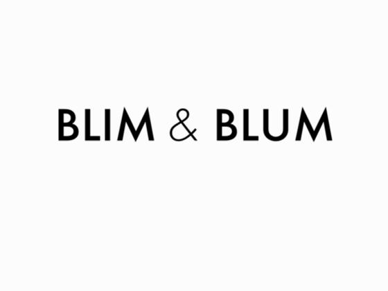 Blim & Blum Discount Code